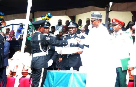 Meet Evangeline Babuba Abeke, The Best Female Cadet At Police Academy 1