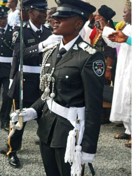 Meet Evangeline Babuba Abeke, The Best Female Cadet At Police Academy 2