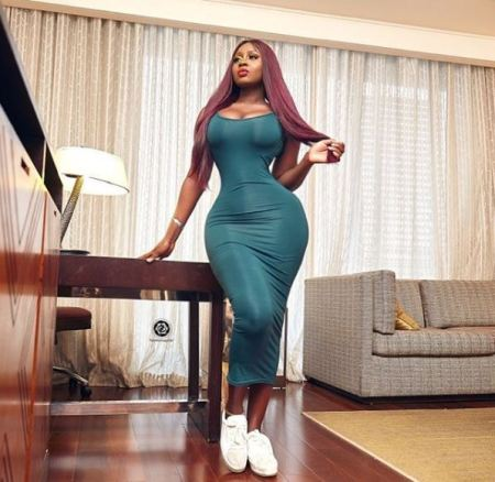 Princess Shyngle Wears See-through Outfit To Soundcity MVP Awards (Photos) 5