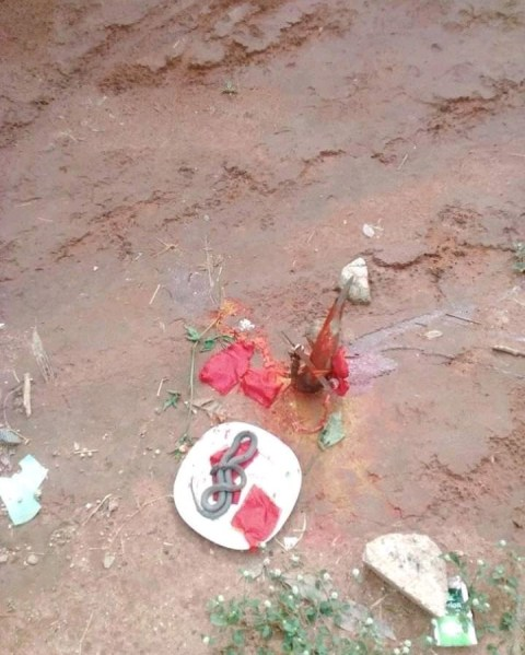 Woman Dies Minutes After Giving Birth Allegedly Because Of Fetish Item Placed In Her Father's Compound (Photo) 4