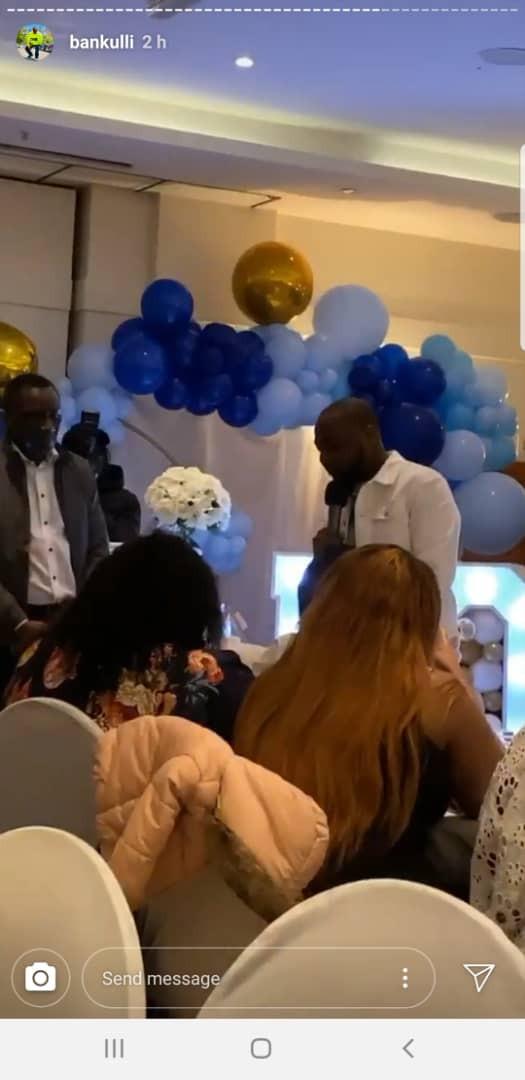 Davido's son naming ceremony