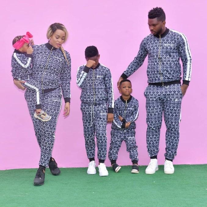 Joseph Yobo and family