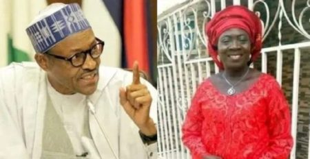 Buhari and Salome Achejuh Abuh