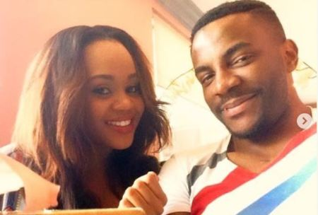 Ebuka Obi Echendu and wife, Cynthia