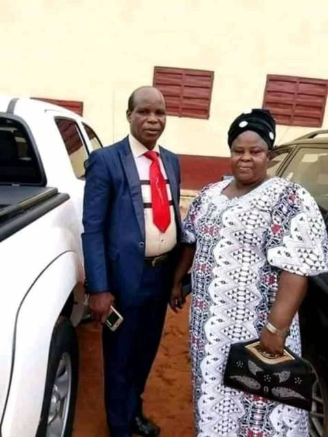 Rev. Ukpai Nweke Sylvester and his wife, Peace.