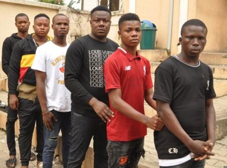 yahoo boys nabbed