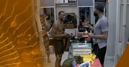 Mike and Omashola faceoff
