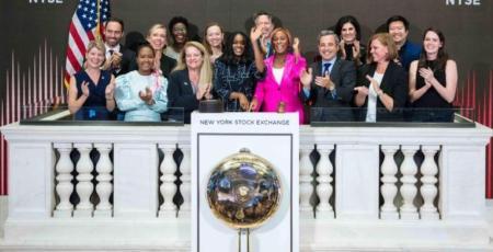DJ Cuppy New York Stock Exchange