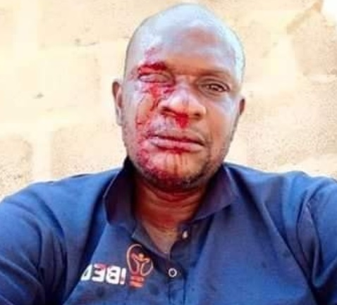 Ayorinde was beaten mercilessly by angry residents of Ogun state