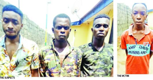 Shocking Story Of Siblings Who Kidnapped Their Younger Brother To Extort N7m From Their Grandfather (Photo)
