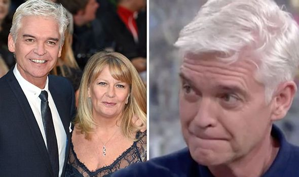 Phillip Schofield and wife