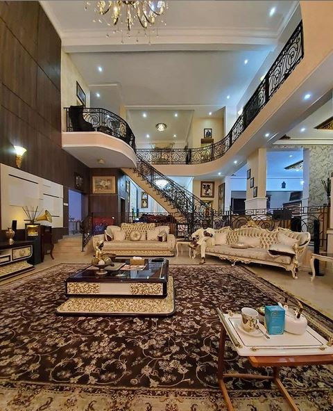 Dino Melaye Showcases His New Mansion