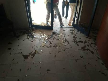 FMC - Docs Flee As Gunmen Disrupt COVID-19 Assembly At Federal Medical Centre In Lokoja