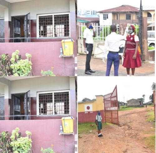oyoschool - After 4 Months, Oyo Colleges Lastly Reopen (Photographs)