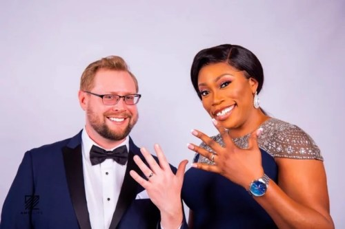 debi4 - Fabulous! 40-year-old Nigerian Lady Will get Engaged To Oyinbo Lover On Her Birthday (Pictures)