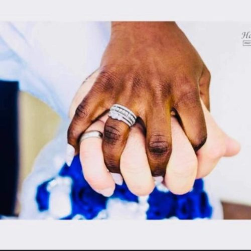 lovewed1 - Wow! Lovely African Bride Marries Her Oyinbo Lover (Pictures)