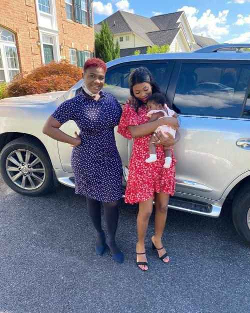 Adorable Video Of Actress Mercy Johnson Singing Her Favorite Song to Baby Divine