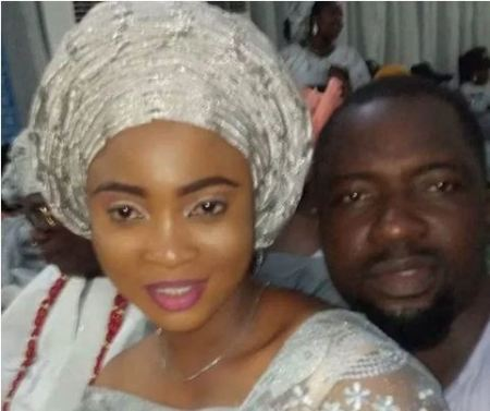 anjo4 - Actress, Lizzy Anjorin's New Husband, Lateef Lawal Has 5 Different Wives (Images)
