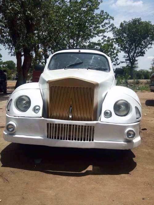 modibo3 - Gifted Nigerian Man Converts Volkswagen Beetle Into Rolls Royce Reproduction (Picture)