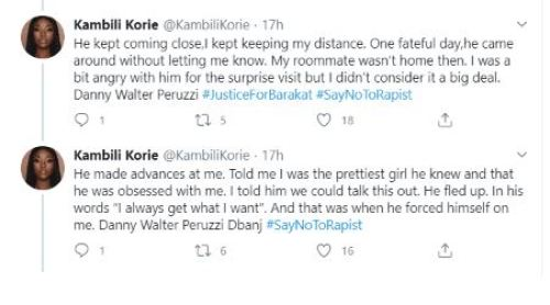 Lady Identified As Kambili Korie Accuses Uti Nwachukwu