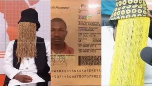 Anas Aremeyaw's identity has been exposed