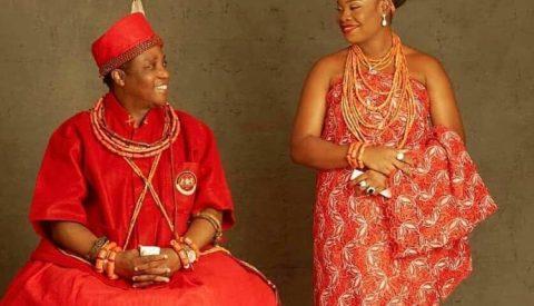 Oba of Benin, Omo N'Oba Ewuare II welcomes a child
