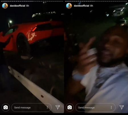 Too Much Money! Davido's New Lamborghini Gets Delivered To His Banana Island Home (Video)