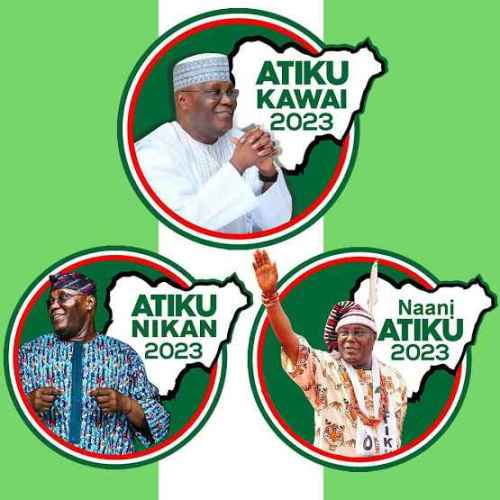 Atiku Abubakar's 2023 campaign photo