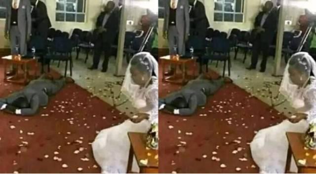 The Kenyan man left devastated after finding out bride's secret