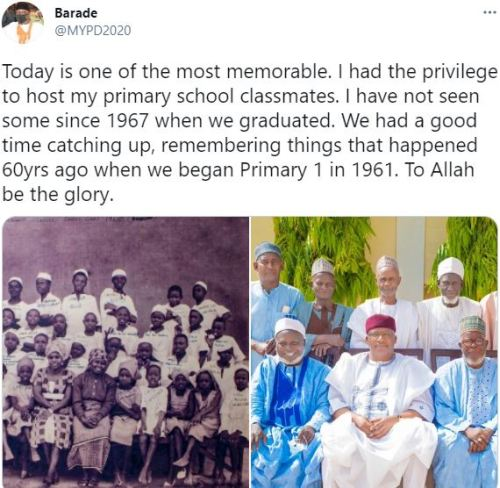 Man shares how he reunited with school mates after 60 years