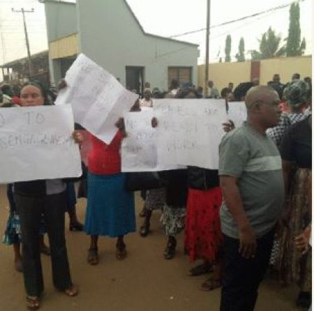 Teachers prostest in Rivers state