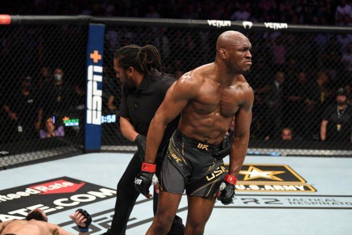 UFC champion, Kamaru Usman
