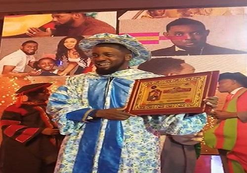 AY bags doctorate degree