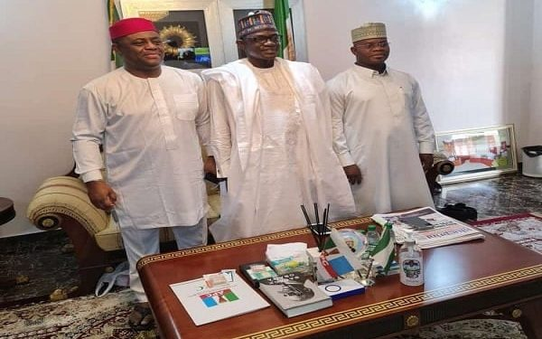 FFK posing with APC governors
