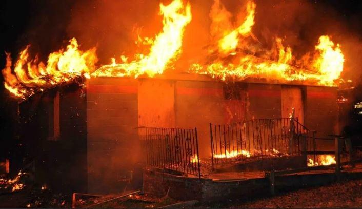 Fire Bauchi market