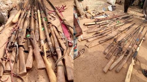 The herdsmen caught in Oyo state