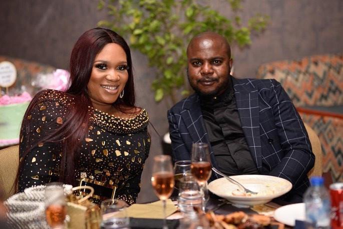 Sandra Iheuwa and her new man