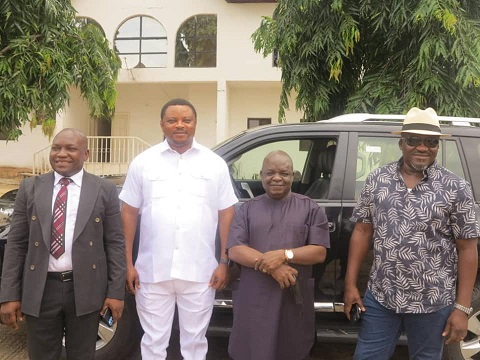 Ayade gifts cars to lawmakers who joined APC