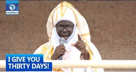 Emir gives bandits ultimatum to leave the state