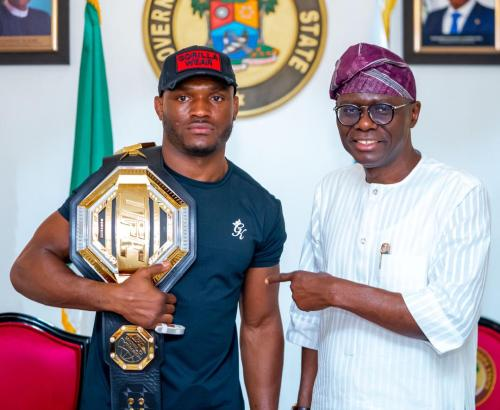 Usman and Babajide Sanwo-Olu