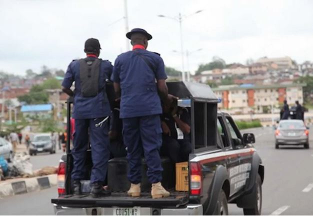 End Of The Road! How 16 Suspected Oil Thieves Landed In NSCDC Net In Abia —  Global Times Nigeria