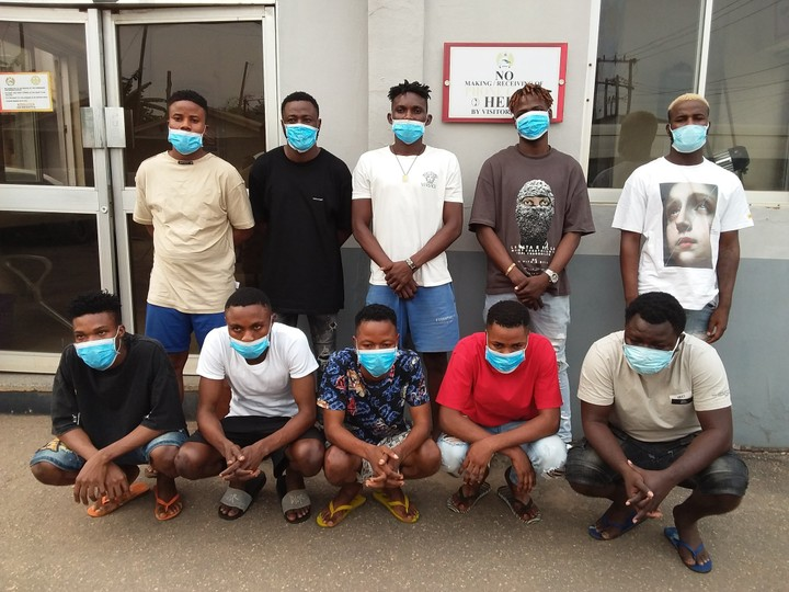 Fraudsters arrested in Akure
