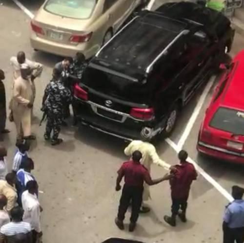 Umar Danladi assaults security guard in Abuja