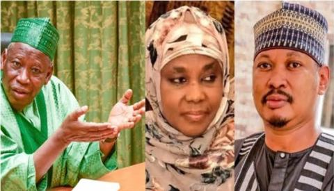 Hafsat Ganduje was arrested after being exposed by her son as being corrupt