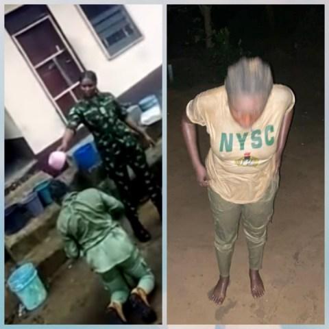 Soldier humiliates corper