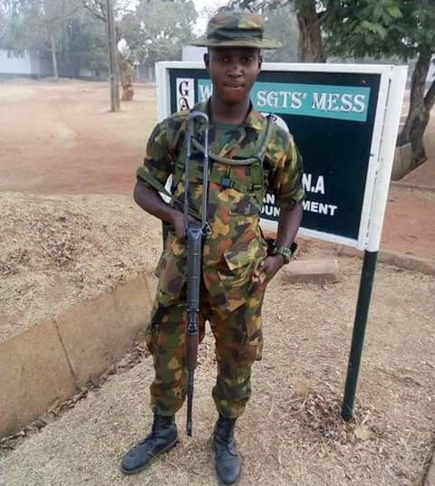 Image result for Nigerian Soldier beats ma mercelessly