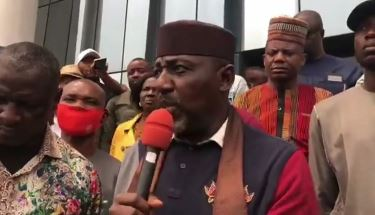 Don't Take My Calmness For Granted, Enough Is Enough''- Rochas Okorocha Warns Gov Uzodinma While Addressing His Followers (Video)