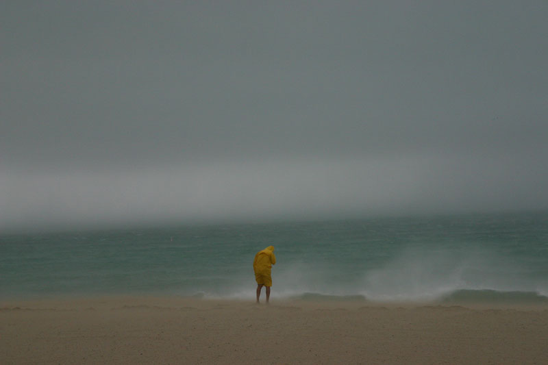 A picture I took on Miami Beach as Hurricane Katrina hit landfall. As seen on CNN.com