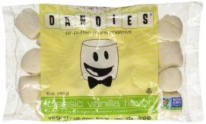 Dandies vegan marshmallows packaging.