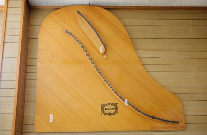 グランドピアノの響板